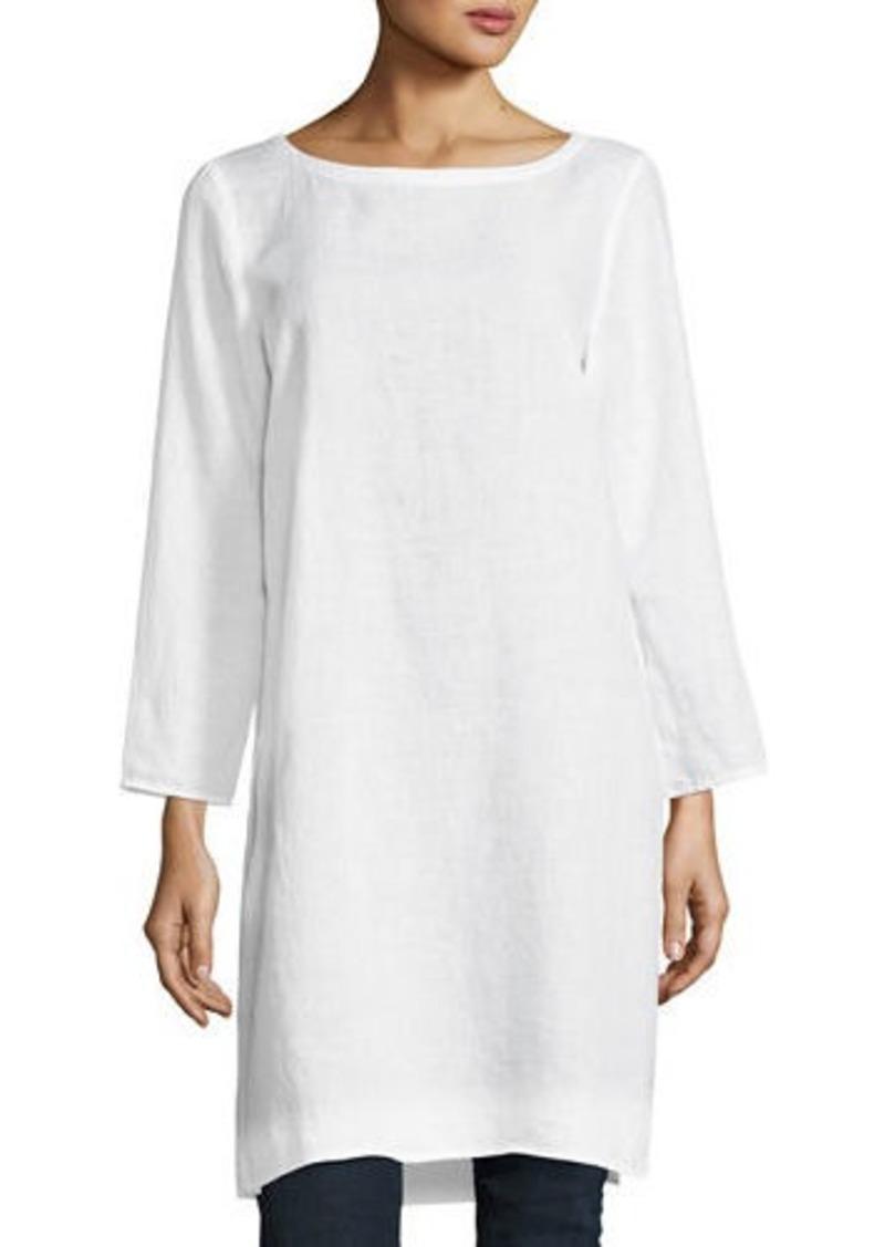 3fcd1d92c0e Eileen Fisher Organic Handkerchief Linen Tunic   Dresses
