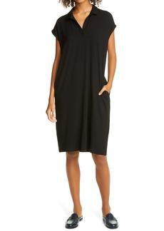 Eileen Fisher Organic Linen & Cotton Shirtdress