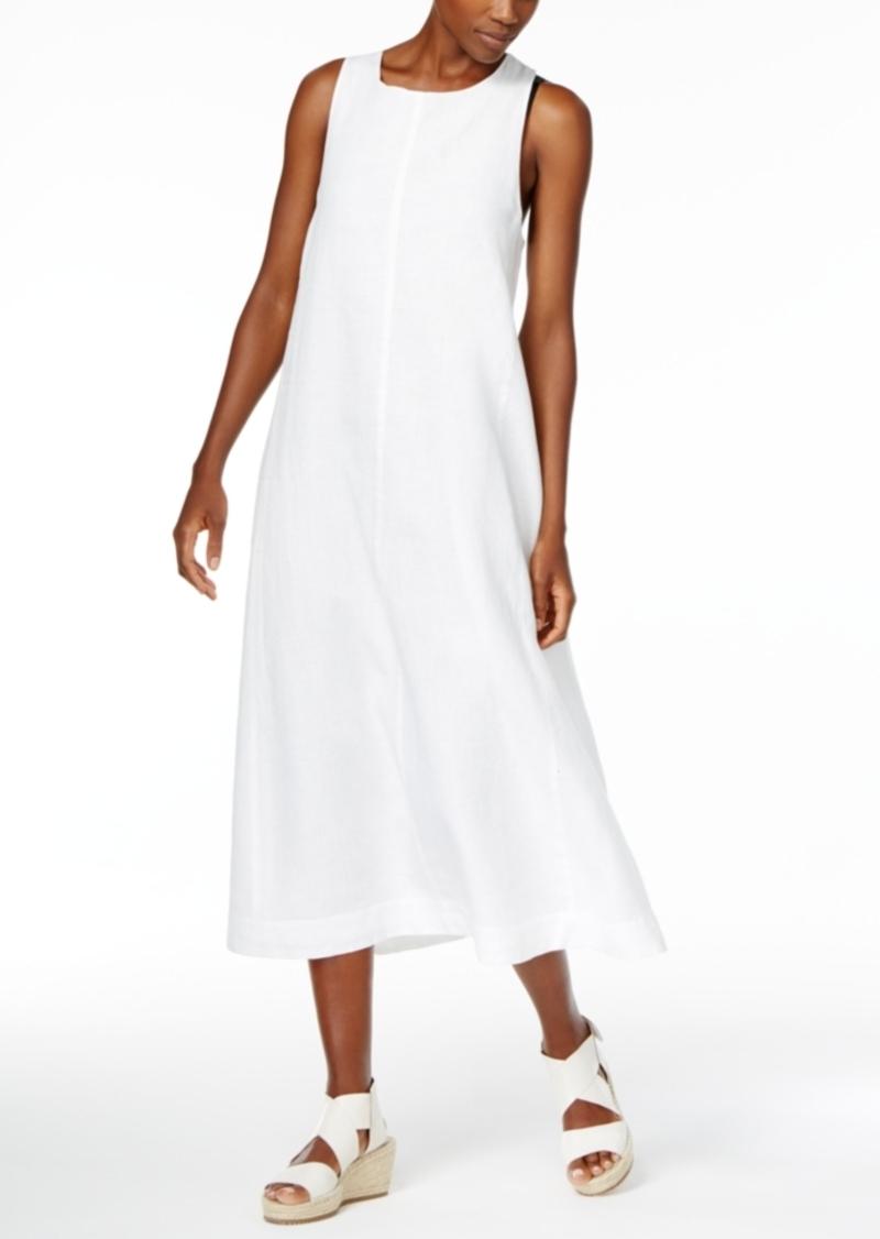 71dc7932681 Eileen Fisher Eileen Fisher Organic Linen A-Line Dress
