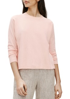 Eileen Fisher Organic Linen Blend Boxy Top