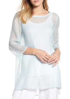 Eileen Fisher Organic Linen Blend Tunic