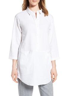 Eileen Fisher Organic Linen Blend Tunic (Regular & Petite) (Nordstrom Exclusive)