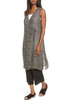 Eileen Fisher Organic Linen Blend Wrap Tunic (Regular & Petite)