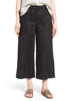 Eileen Fisher Organic Linen Crop Pants