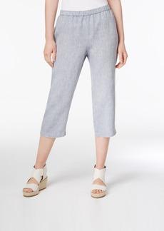 Eileen Fisher Organic Linen Cropped Pants, Regular & Petite