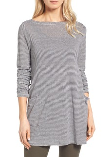 Eileen Fisher Organic Linen Knit Tunic