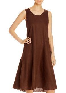 Eileen Fisher Organic Linen Scoop Neck Dress - 100% Exclusive