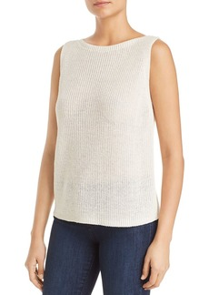 Eileen Fisher Organic Linen Sweater Tank