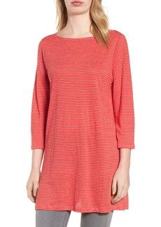 Eileen Fisher Organic Linen Tunic (Regular & Petite)