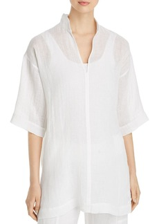 Eileen Fisher Organic Linen Tunic Top