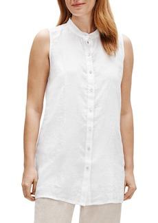 Eileen Fisher Organic Linen Tunic Top (Regular & Petite)