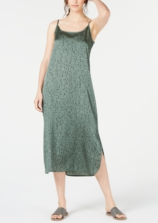 Eileen Fisher Organic Printed Cami Dress