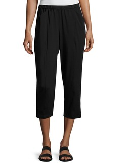Eileen Fisher Organic Stretch Jersey Cropped Pants