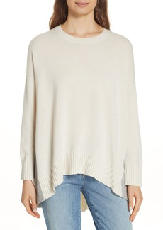 Eileen Fisher Oversize Cashmere & Wool Sweater (Regular & Petite)
