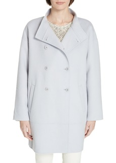 Eileen Fisher Oversize Wool & Cashmere Coat