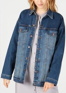 Eileen Fisher Oversized Denim Jacket