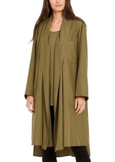 Eileen Fisher Oversized Open-Front Jacket