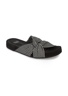 Eileen Fisher Pall Twisted Slide Sandal (Women)