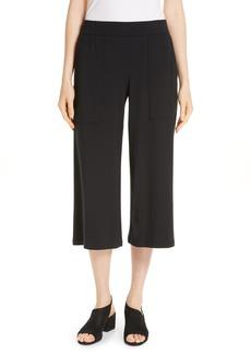 Eileen Fisher Patch Pocket Crop Pants (Regular & Petite)
