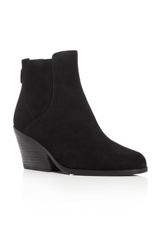 Eileen Fisher Peer Block Heel Booties