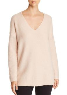 Eileen Fisher Boucl� Bliss V-Neck Sweater