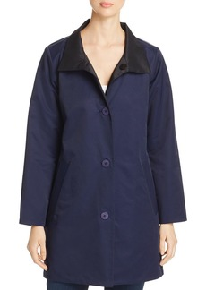 Eileen Fisher Reversible Mid-Length Jacket