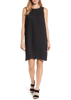 Eileen Fisher Pleated Shift Dress