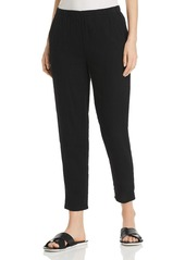 Eileen Fisher Pliss� Organic Cotton Pants