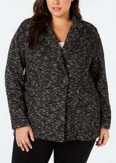 Eileen Fisher Plus Size Classic Blazer