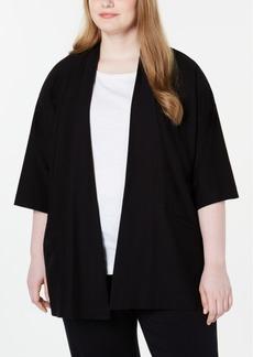 Eileen Fisher Plus Size Kimono Jacket