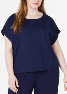 Eileen Fisher Plus Size Organic T-Shirt