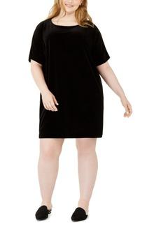 Eileen Fisher Plus Size Shift Dress