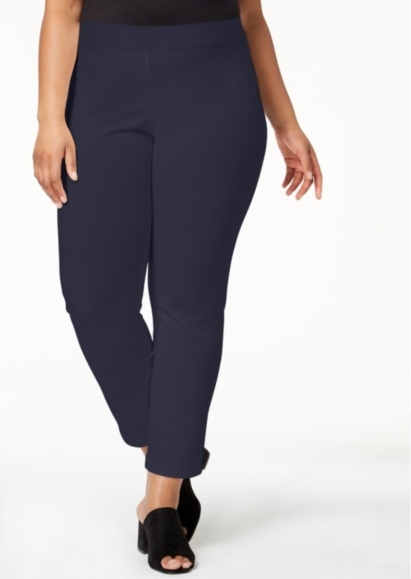 c5fcb24ba69 Plus Size Slim Leg Dress Pants - Data Dynamic AG