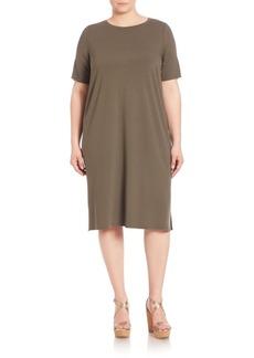 Eileen Fisher, Plus Size T-Shirt Dress