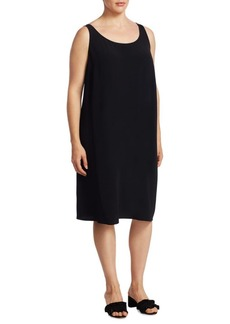 Eileen Fisher, Plus Size Tank Sheath Dress