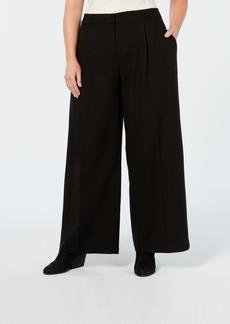 Eileen Fisher Tencel Plus Size Wide-Leg Pants