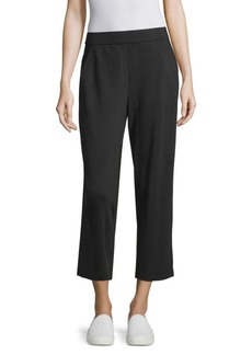 Ponte Cropped Trousers