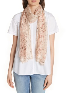 Eileen Fisher Print Silk Scarf