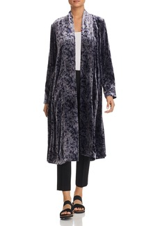 Eileen Fisher Printed Velvet Duster Jacket - 100% Exclusive