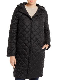 Eileen Fisher Hooded Puffer Coat