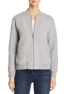 Eileen Fisher Quilted Flight Jacket