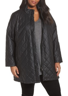 Eileen Fisher Quilted Jacket (Plus Size)