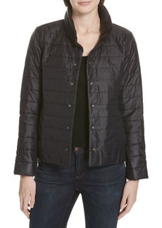 Eileen Fisher Quilted Jacket (Regular & Petite)