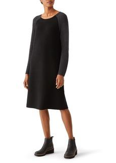 Eileen Fisher Raglan Sweater Dress