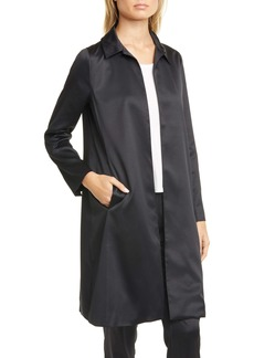 Eileen Fisher Recycled Satin Coat