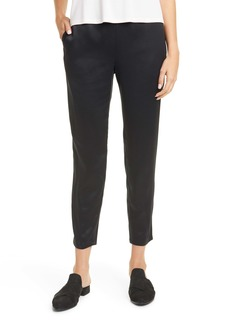 Eileen Fisher Recycled Satin Pants
