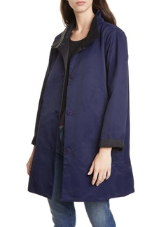 Eileen Fisher Reversible Coat (Regular & Petite)