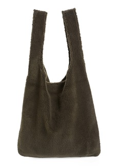Eileen Fisher Reversible Recycled Polyester Fleece & Recycled Nylon Tote (Unisex) (Nordstrom Exclusive)