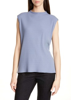 Eileen Fisher Rib Mock Neck Tank