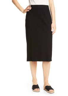 Eileen Fisher Rib Pencil Skirt